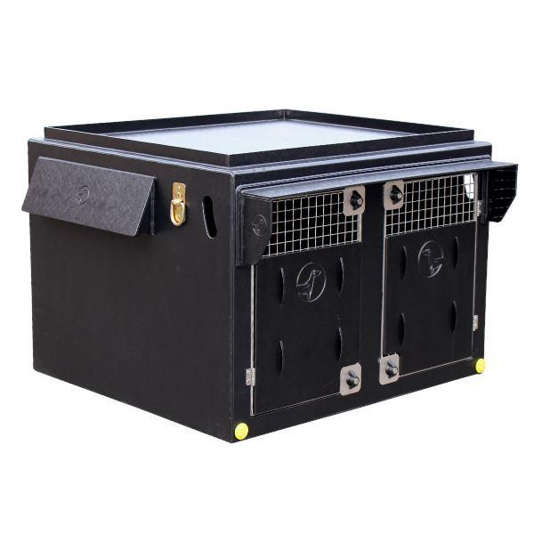 DT Box Dog Crate - DT 1000 DT Box DT BOXES All Weather Kit Black