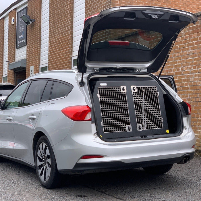 Ford Focus Estate (2018 - Present) Car Travel Crate- The DT 3 DT Box DT BOXES