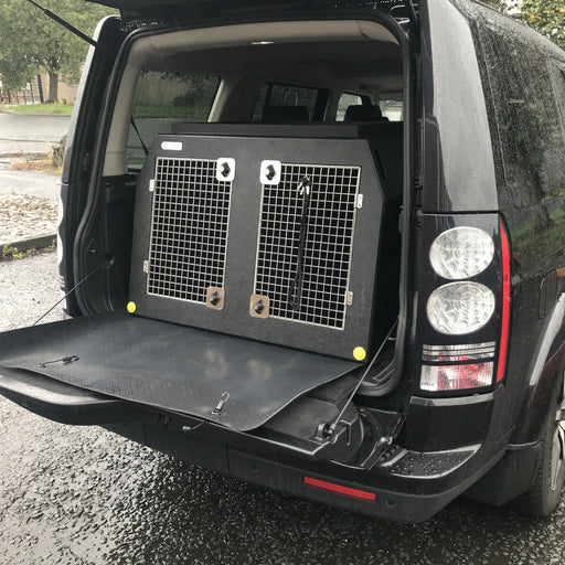 Land Rover Discovery 4 - 3 Dog Crate - DT 3 DT Box DT BOXES