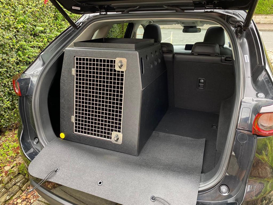 Mazda CX-5 (2017–Present) Dog Car Travel Crate- The DT 1 DT Box DT BOXES 600mm Black