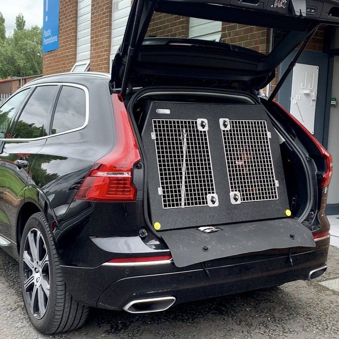 Volvo XC60 2017 - Present Dog Car Travel Crate- The DT 11 DT Box DT BOXES 1000mm Black