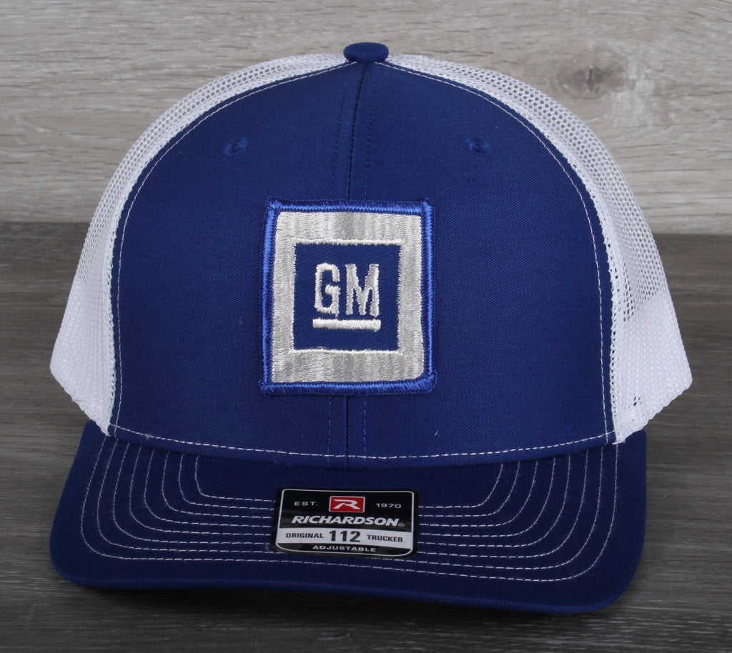 Vintage AC Trucker Snapback Hat General Motors AC Rochester Patch USA MADE