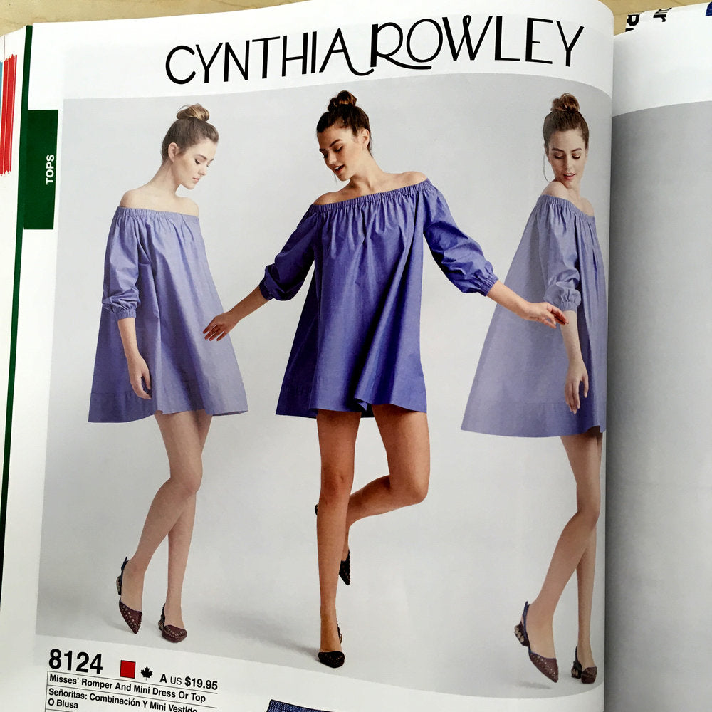 PATTERN REVIEW SIMPLICITY 8124 BY CYNTHIA ROWLEY