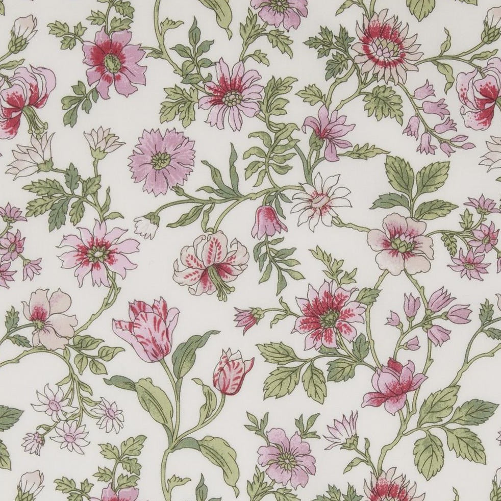 Liberty Tana Lawn Cotton Fabric, Tiger Lily, 1/2 yard