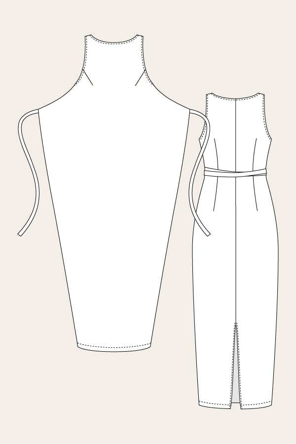 Named Clothing  Kielo Wrap Dress & Jumpsuit Sewing Pattern