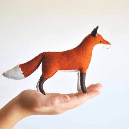 Felt Fox Kit-DelilahIris Designs - Lakes Makerie - Minneapolis, MN