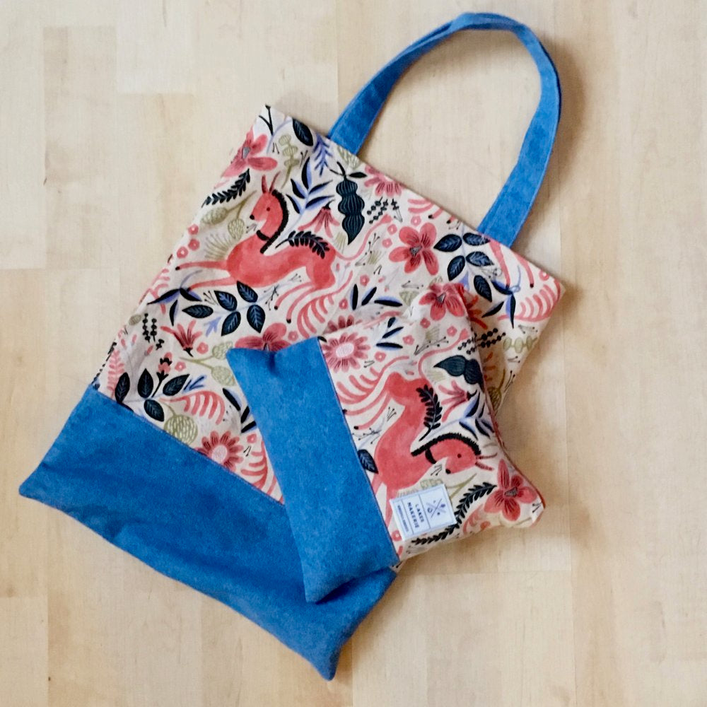 Beginning sewing: Isles tote bag,  Friday June 15,  7-9:30 PM - Lakes Makerie - Minneapolis, MN