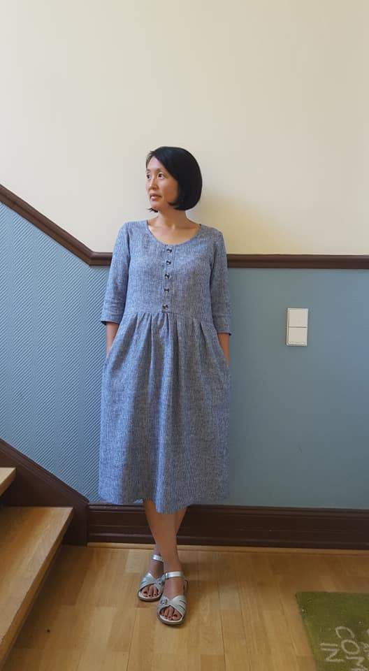 Sew Liberated, Hinterland Dress Pattern - Lakes Makerie - Minneapolis, MN