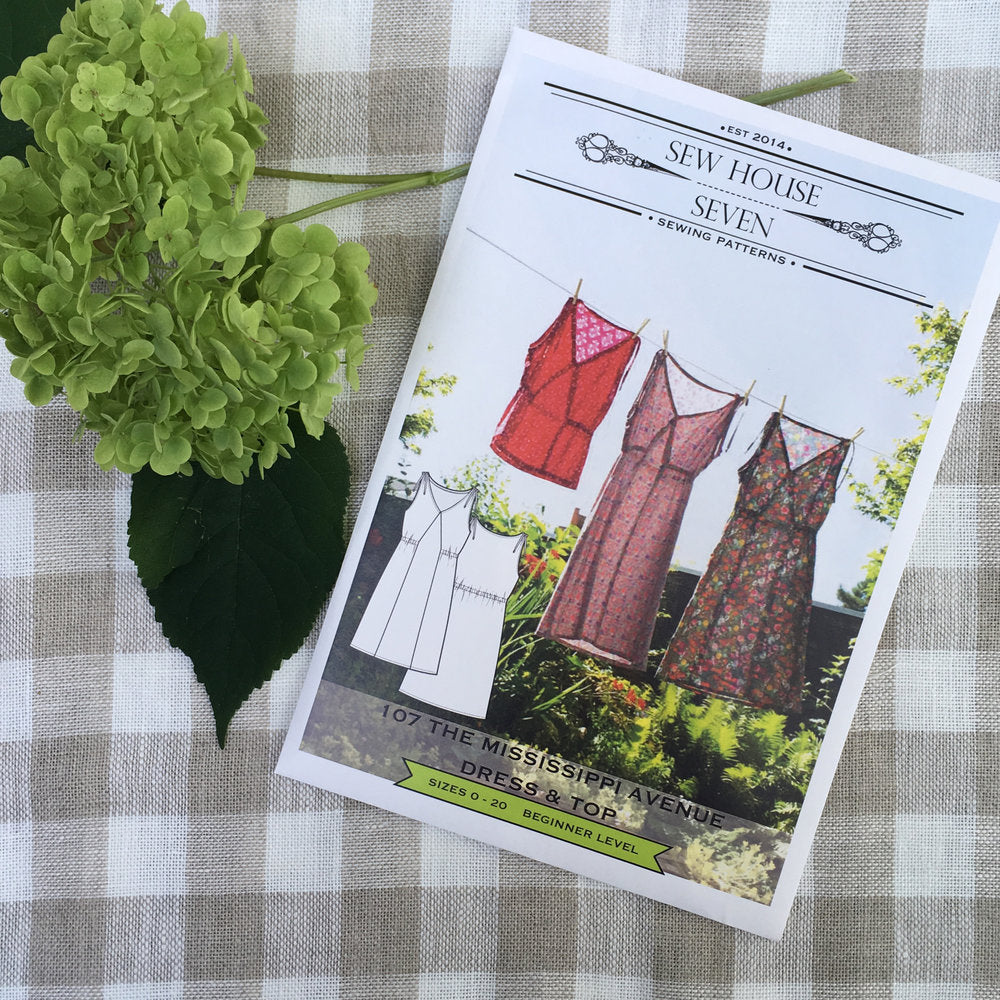 Sew House Seven, Mississippi Avenue Dress Pattern - Lakes Makerie - Minneapolis, MN
