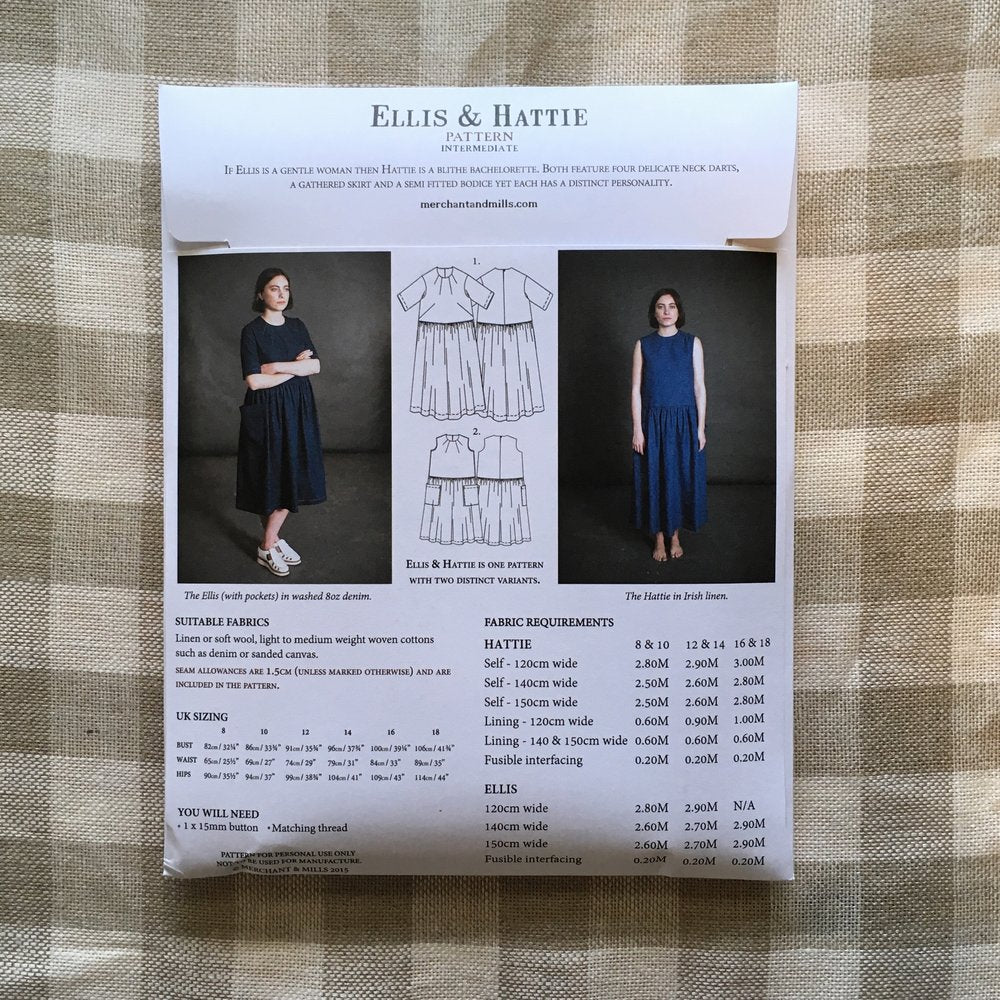 The Ellis and Hattie Dress Pattern - Lakes Makerie - Minneapolis, MN