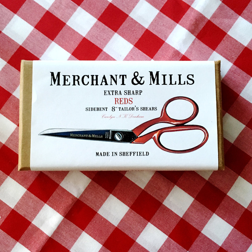 Merchant & Mills Red Handled Tailors Shears - Lakes Makerie - Minneapolis, MN