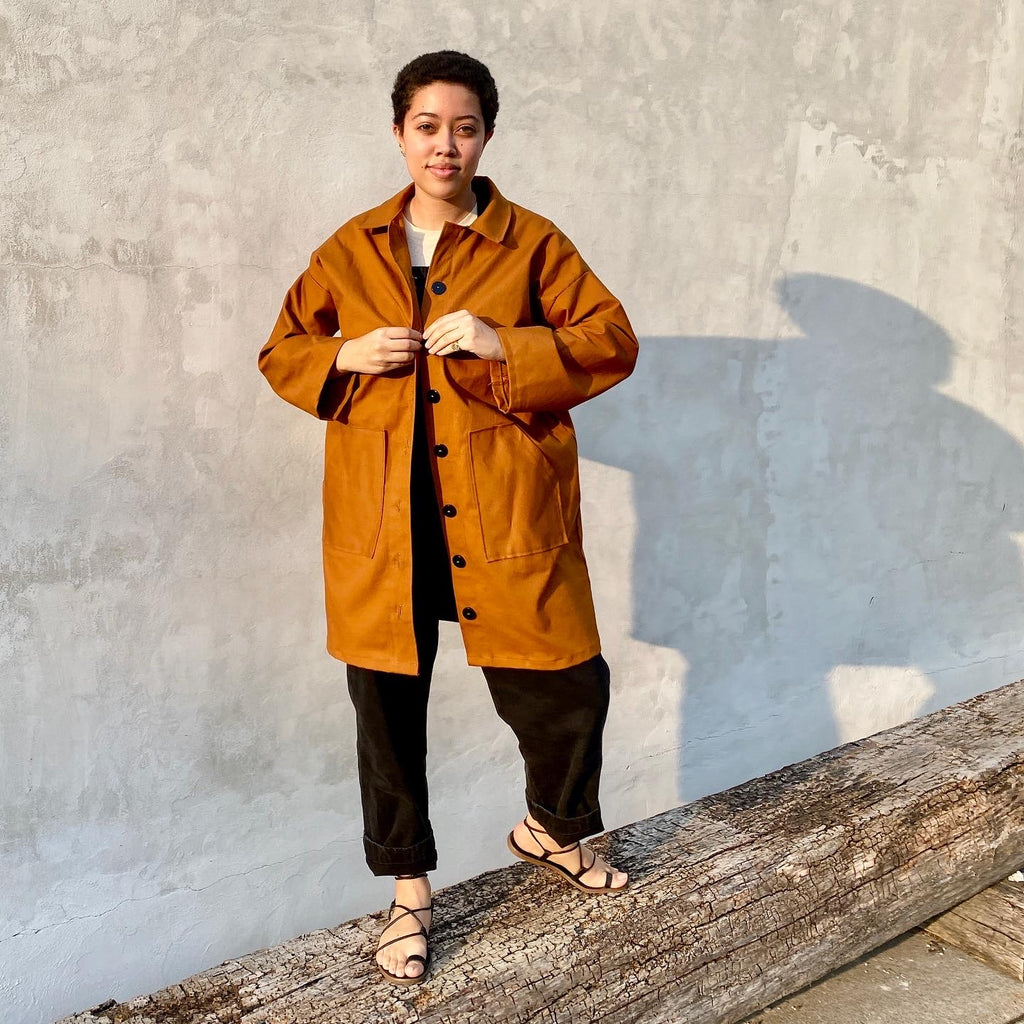 Friday Pattern Co., the Ilford Jacket (Unisex) sewing pattern
