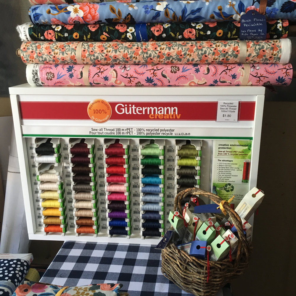 Gutermann Thread, 100% recycled poly - Lakes Makerie - Minneapolis, MN