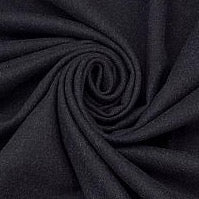 Rayon Twill Jacketing (designer deadstock), Dark Navy, 1/2 yard