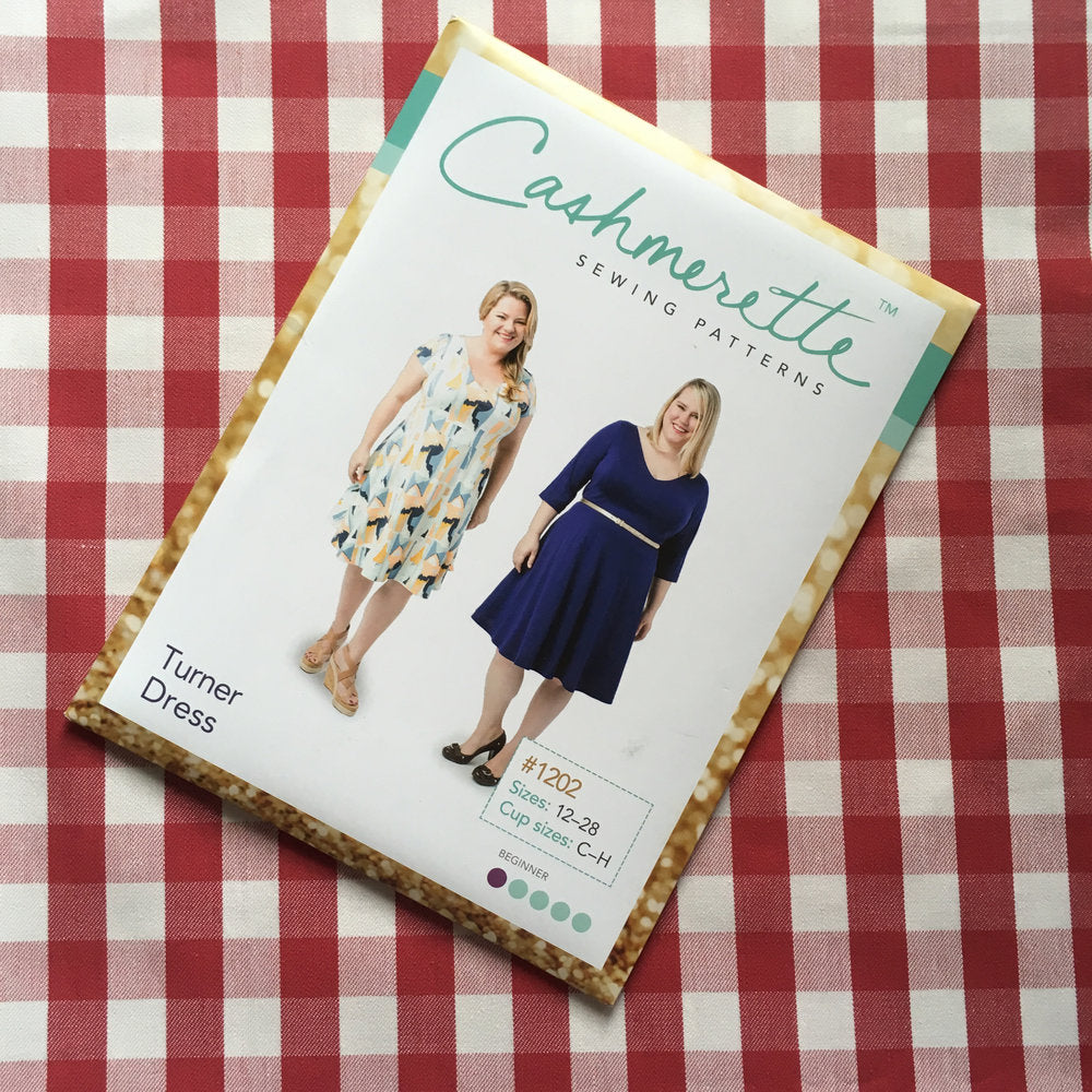 Cashmerette Turner Dress, Curvy Sewing Pattern - Lakes Makerie - Minneapolis, MN