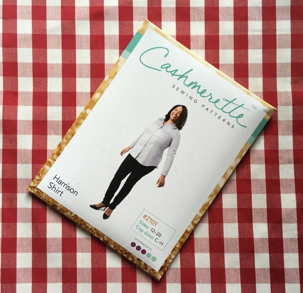 Cashmerette Harrison Shirt, Curvy Sewing PAtten - Lakes Makerie - Minneapolis, MN