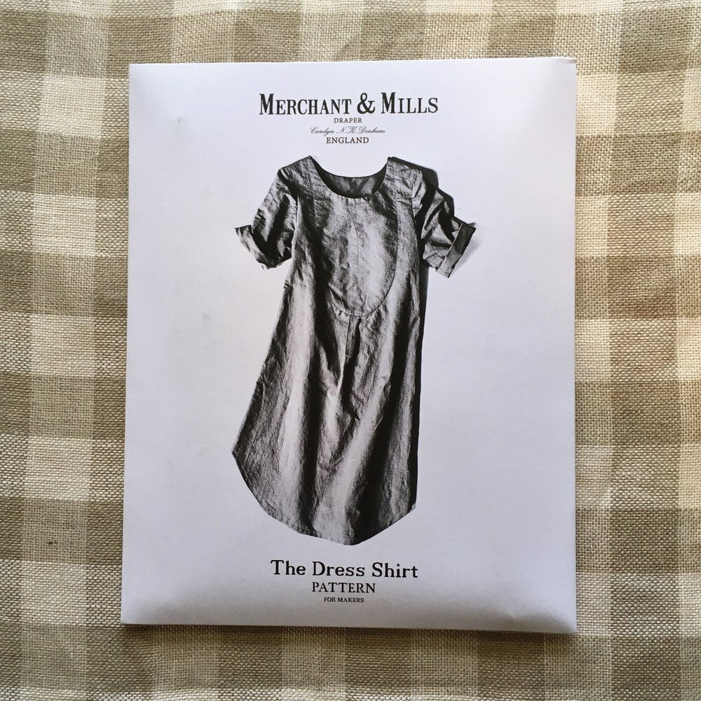 Merchant & Mills, The Dress Shirt Dress Sewing Pattern - Lakes Makerie - Minneapolis, MN