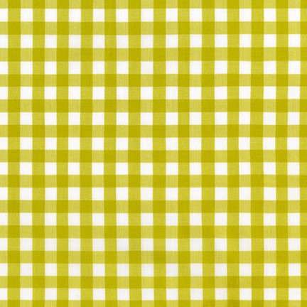 "Kitchen Window Woven 1/2"" Cotton Gingham fabric, multiple colorways"