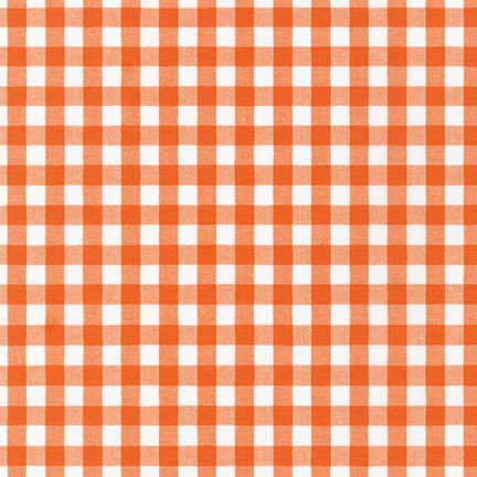 "Kitchen Window Wovens, 1/2"" Cotton Gingham fabric, multiple colorways, 1/2 yard"