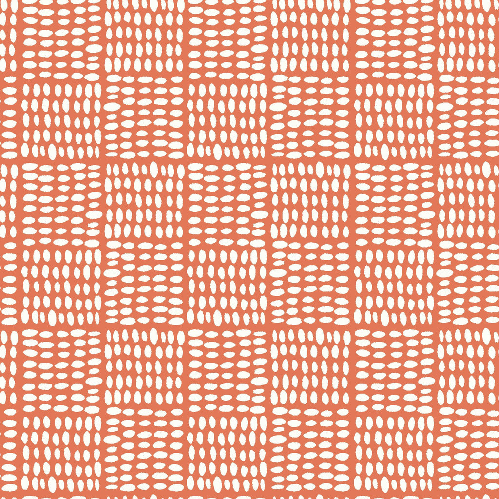 Monaluna Birdseed Coral Cotton Lawn Fabric, 1/2 yard - Lakes Makerie - Minneapolis, MN