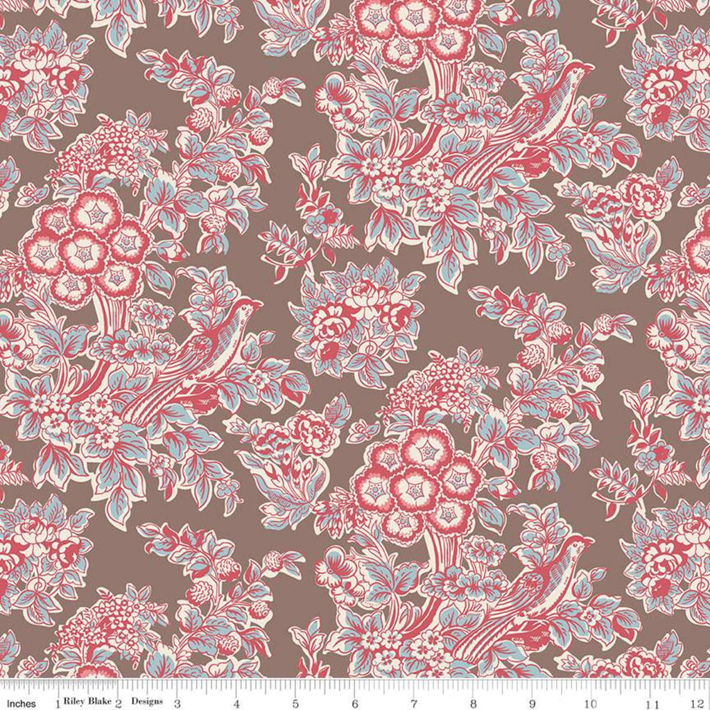 Jane Austen at Home, Penelope Quilting Weight Cotton, 1/2 yard