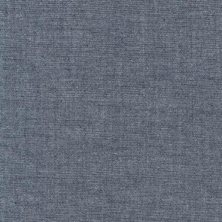 Chambray Union Indigo Cotton Fabric, 1/2 yard