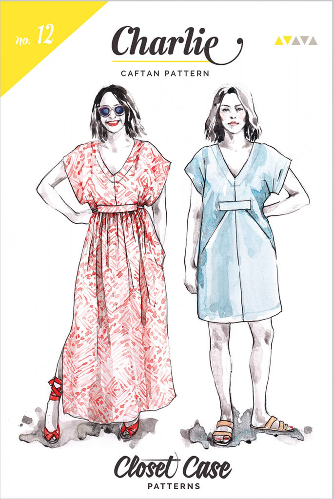 Closet Case Patterns, Charlie Caftan Pattern - Lakes Makerie - Minneapolis, MN