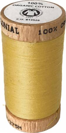 100% Organic Cotton Thread, Colonial Needle Company