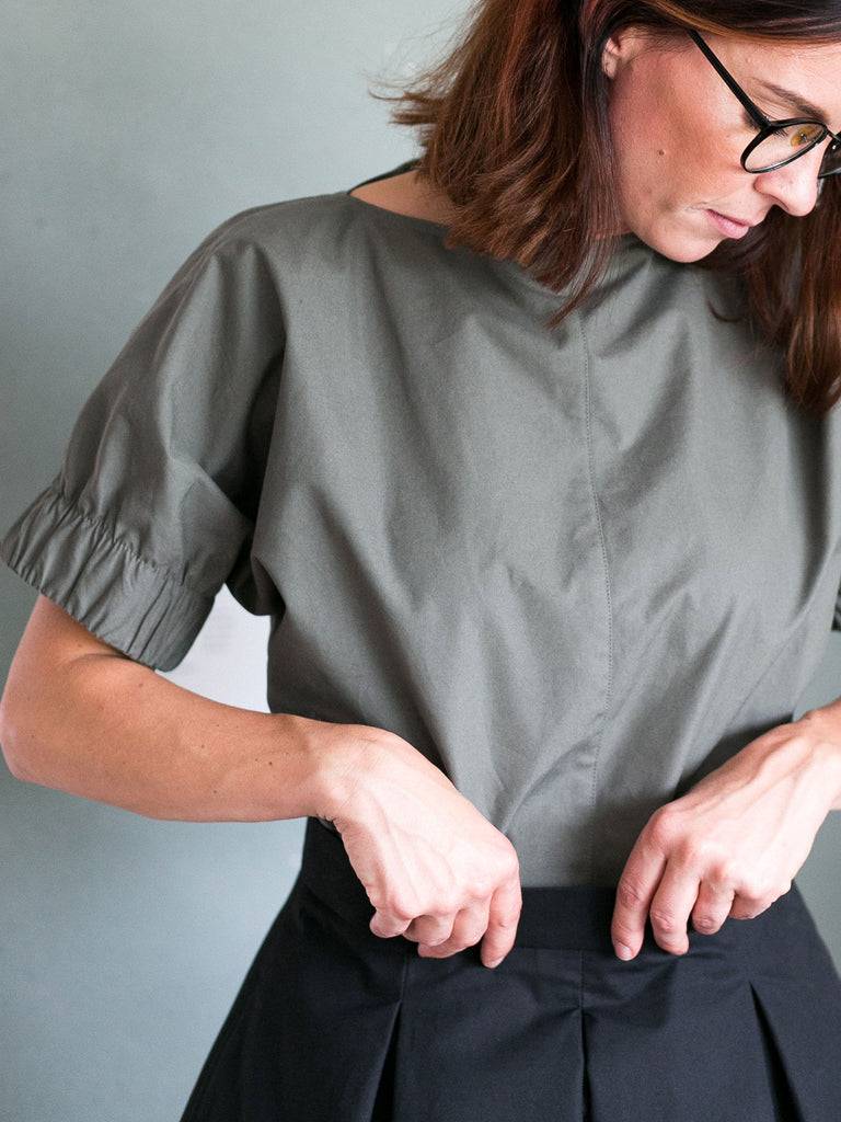 The Assembly Line, Cuff Top Pattern,  Sweden - Lakes Makerie - Minneapolis, MN