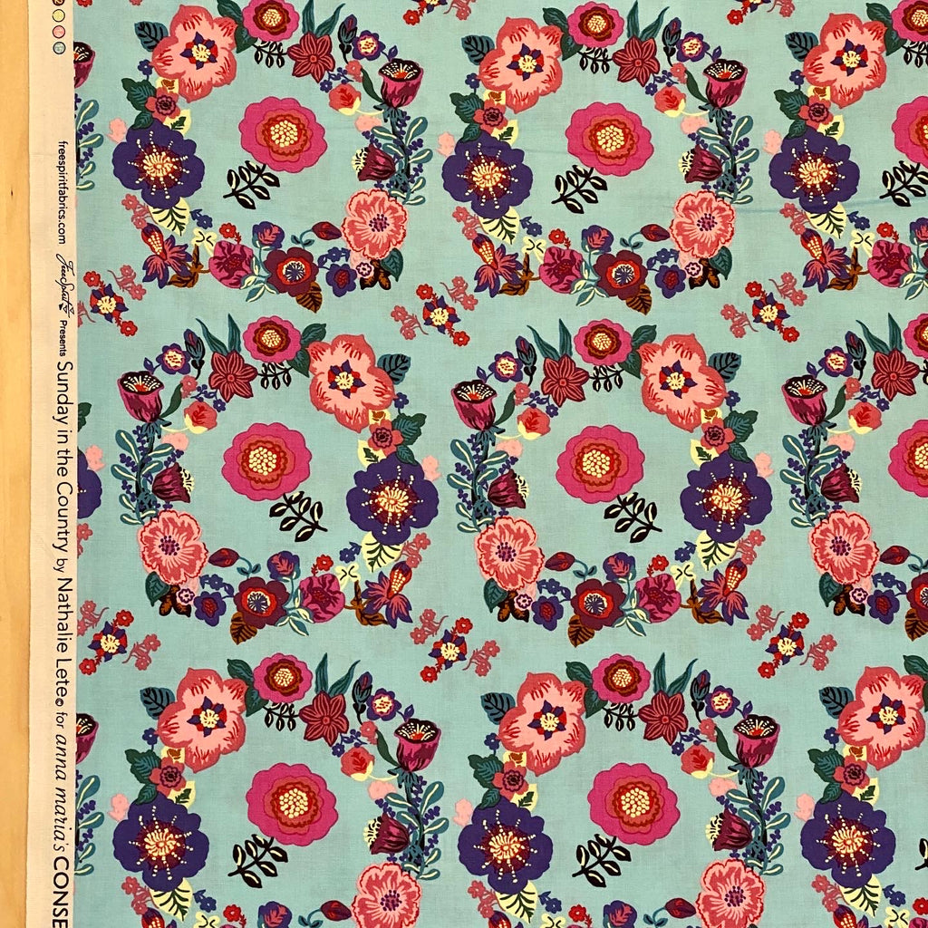 Sunday in the Country, Crown- Sissi, 1/2 yard
