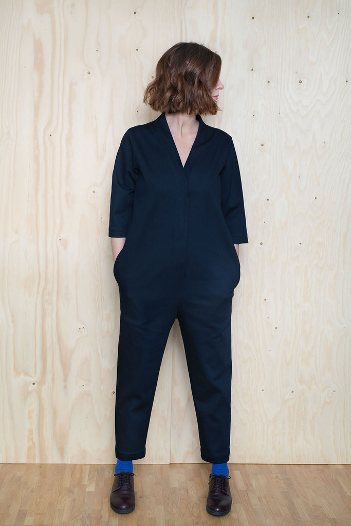 Assembly Line V-Neck Jumpsuit, Sweden-PREORDER - Lakes Makerie - Minneapolis, MN