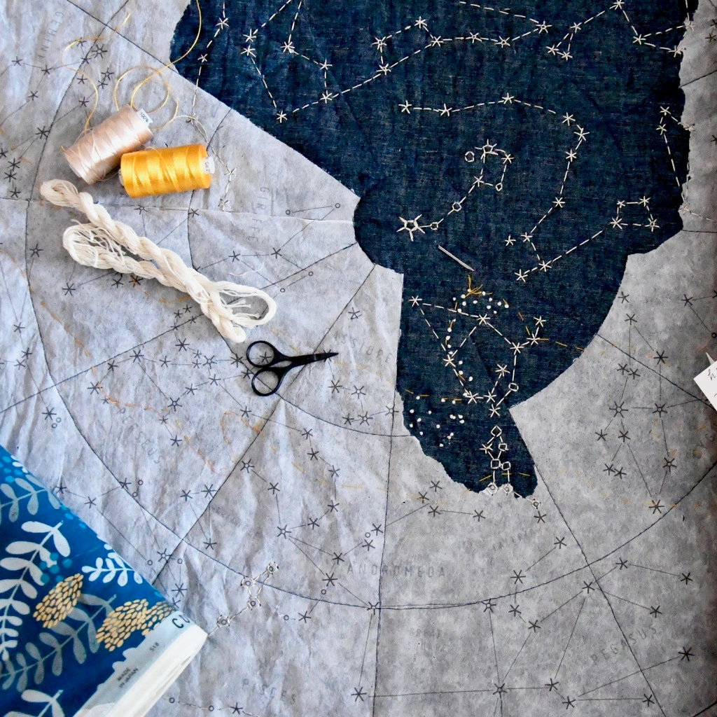 Haptic Lab City Constellation DIY Quilt Pattern, small or large - Lakes Makerie - Minneapolis, MN