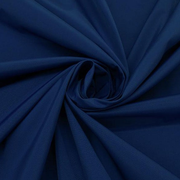 Blueberry, 100% Nylon Water Repellent- Canvas Jacketing Ralph Lauren, 1/2  yard