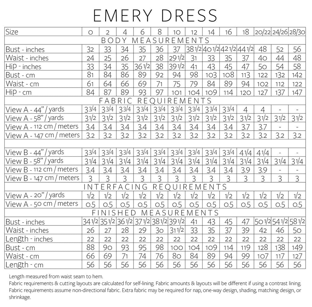 Christine Haynes, Emery Dress Pattern