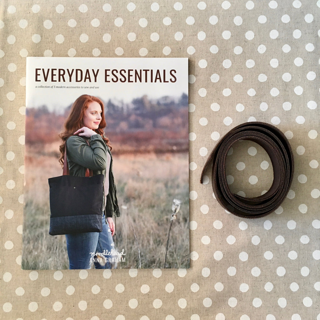 Noodlehead Everyday Essentials Book (tote, pouch and wallet patterns) - Lakes Makerie - Minneapolis, MN