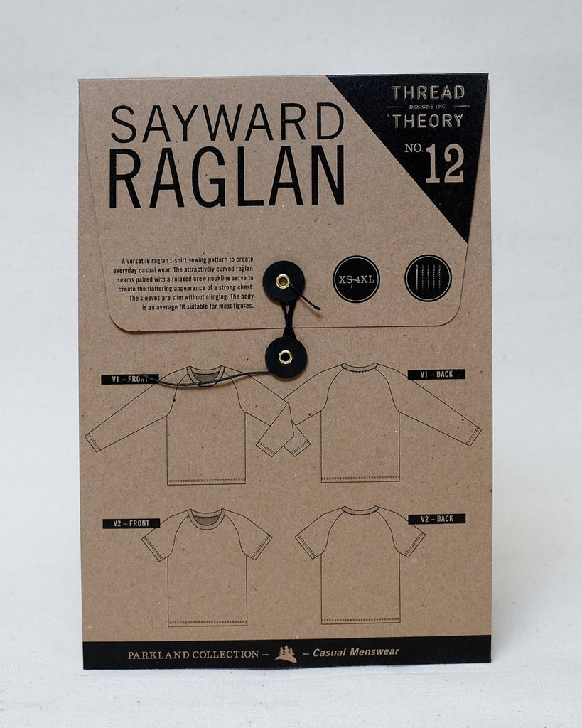 Thread Theory Men's Sayward Raglan Pattern - Lakes Makerie - Minneapolis, MN