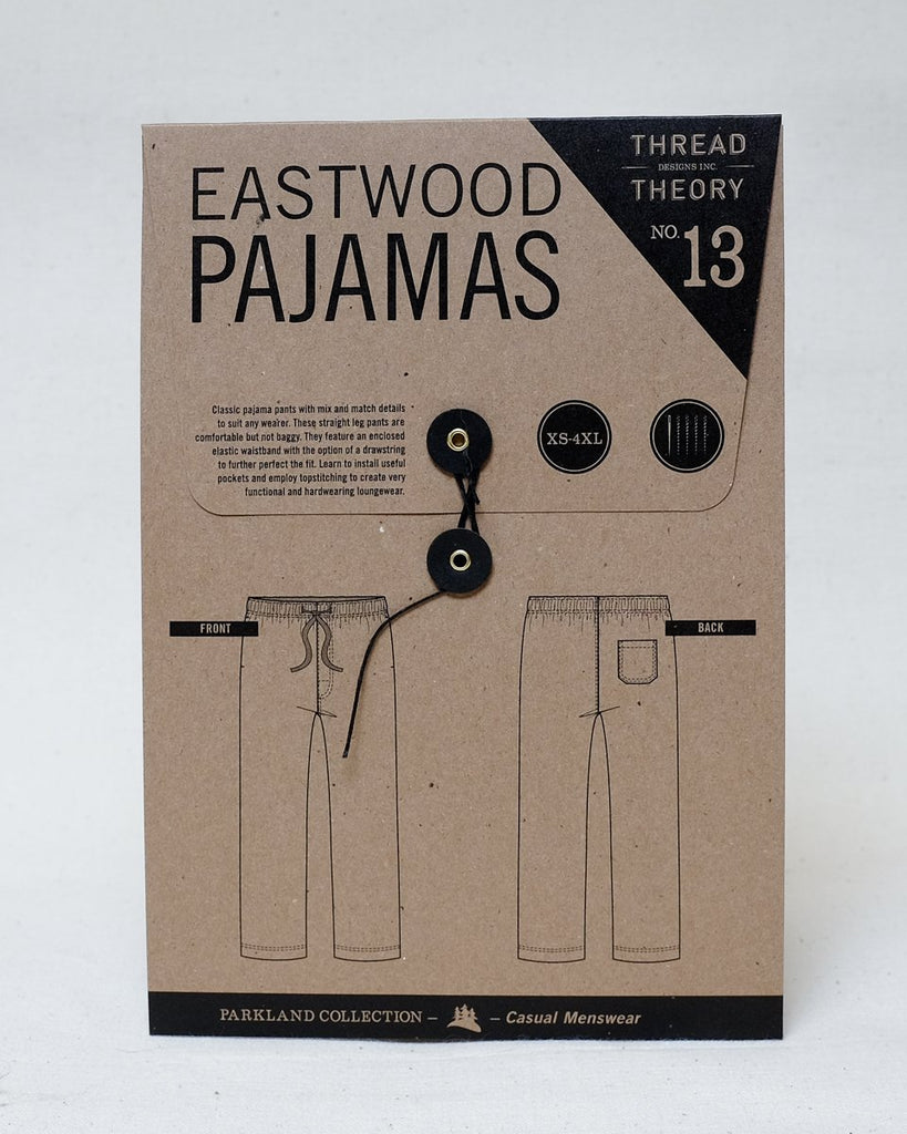 Thread Theory Eastwood Pajamas Pattern - Lakes Makerie - Minneapolis, MN