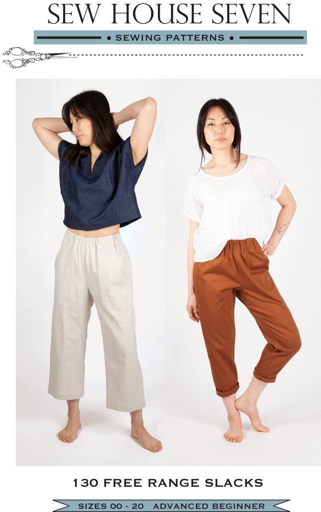 Sew House Seven, Free Range Slacks Pattern - Lakes Makerie - Minneapolis, MN