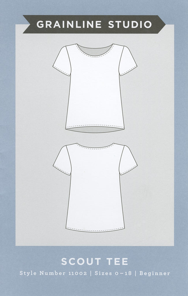 Scout Tee Pattern, Grainline Studio - Lakes Makerie - Minneapolis, MN