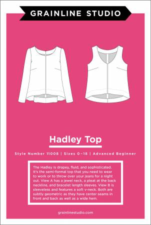 Grainline Studio, Hadley Top Pattern - Lakes Makerie - Minneapolis, MN