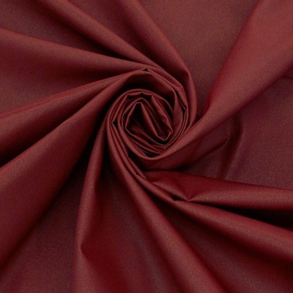 Pomegranate, 100% Nylon Water Repellent- Canvas Jacketing Ralph Lauren, 1/2  yard
