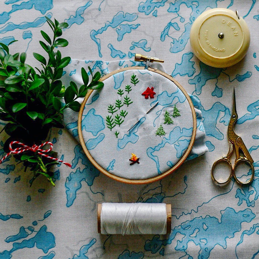 Hand Embroidery 102, Sending an S.O.S., Sunday September 29, 10:00 AM, Friday October 4  10:00 AM or Tuesday October 29, 6:00 PM - Lakes Makerie - Minneapolis, MN