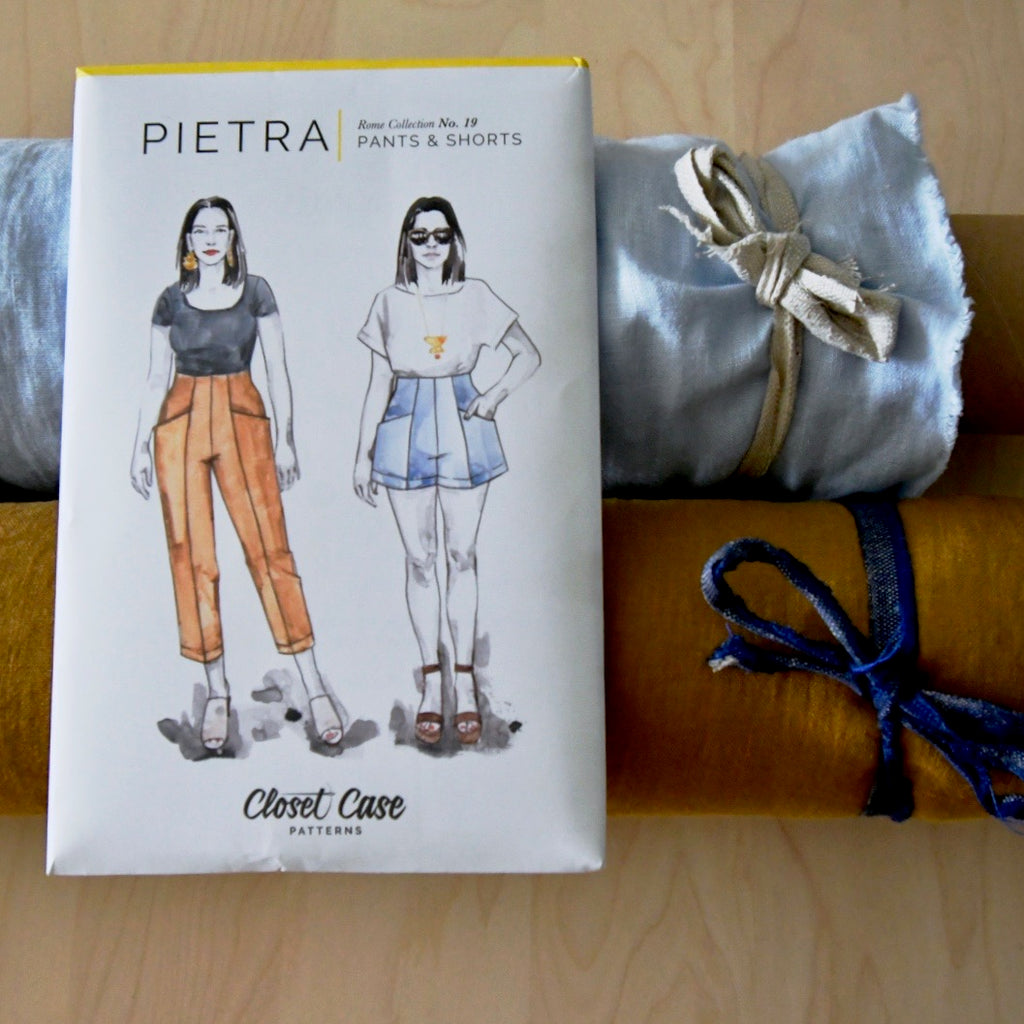 Closet Case Patterns, Pietra Pants and Shorts Pattern - Lakes Makerie - Minneapolis, MN