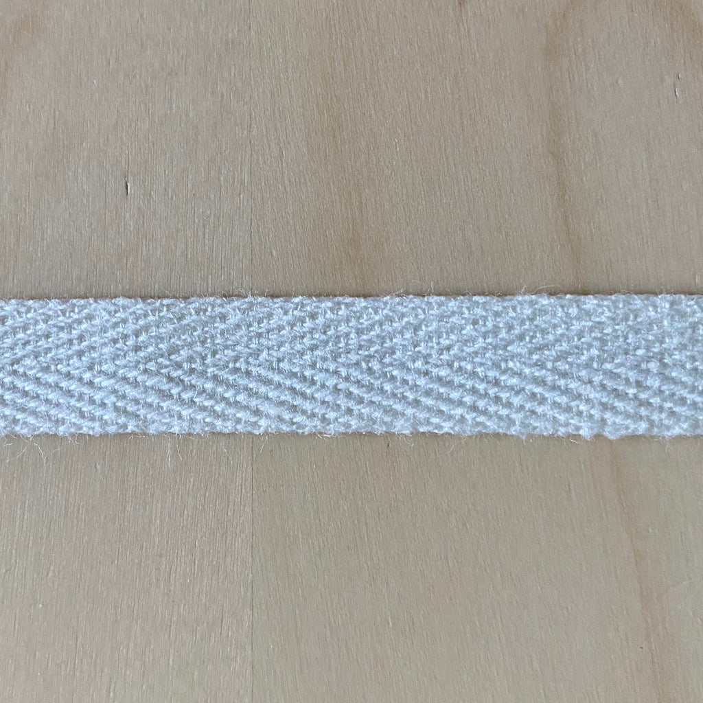 "Twill tape, Cotton, 1/2"" heavy weight, per yard - Lakes Makerie - Minneapolis, MN"