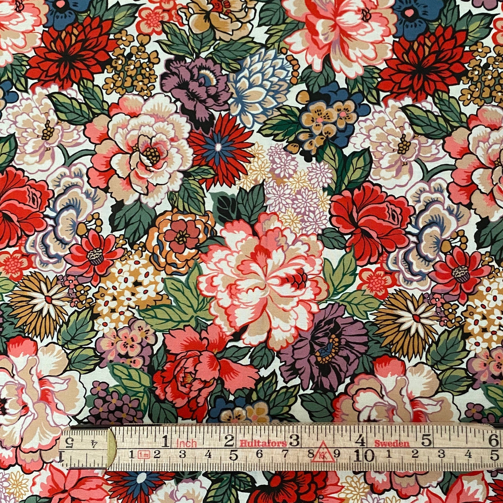 Liberty Tana Lawn Cotton Fabric, Fall Floral, 1/2 yard - Lakes Makerie - Minneapolis, MN