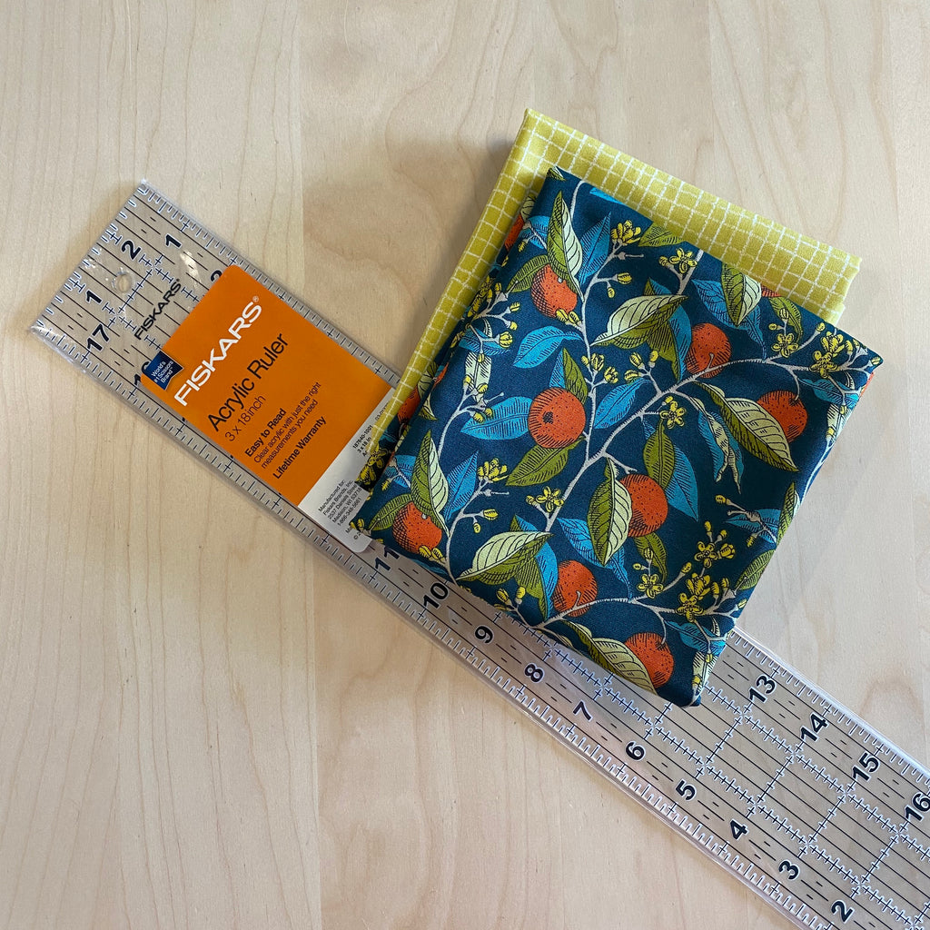 "Ruler, Fiskars Acrylic, 3 x 18"" - Lakes Makerie - Minneapolis, MN"