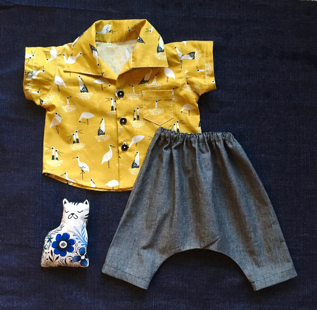 Sew the Wiksten Baby Harem Pants - Lakes Makerie - Minneapolis, MN