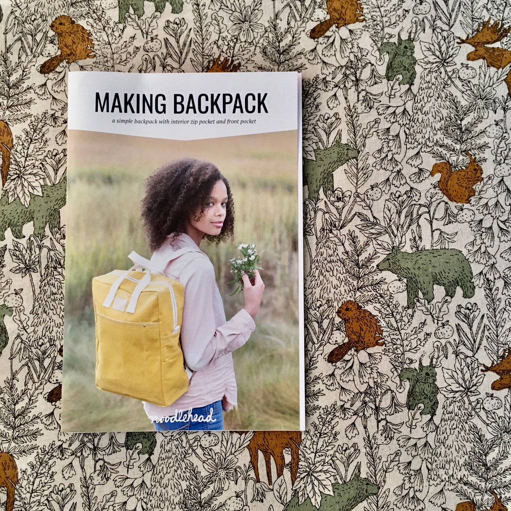 Noodlehead Making Backpack Pattern - Lakes Makerie - Minneapolis, MN