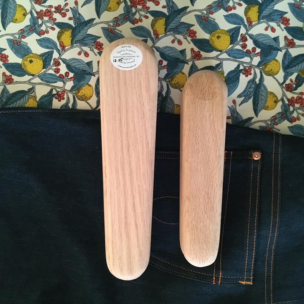 Wooden Tailor's Clapper, Small, Medium or Large