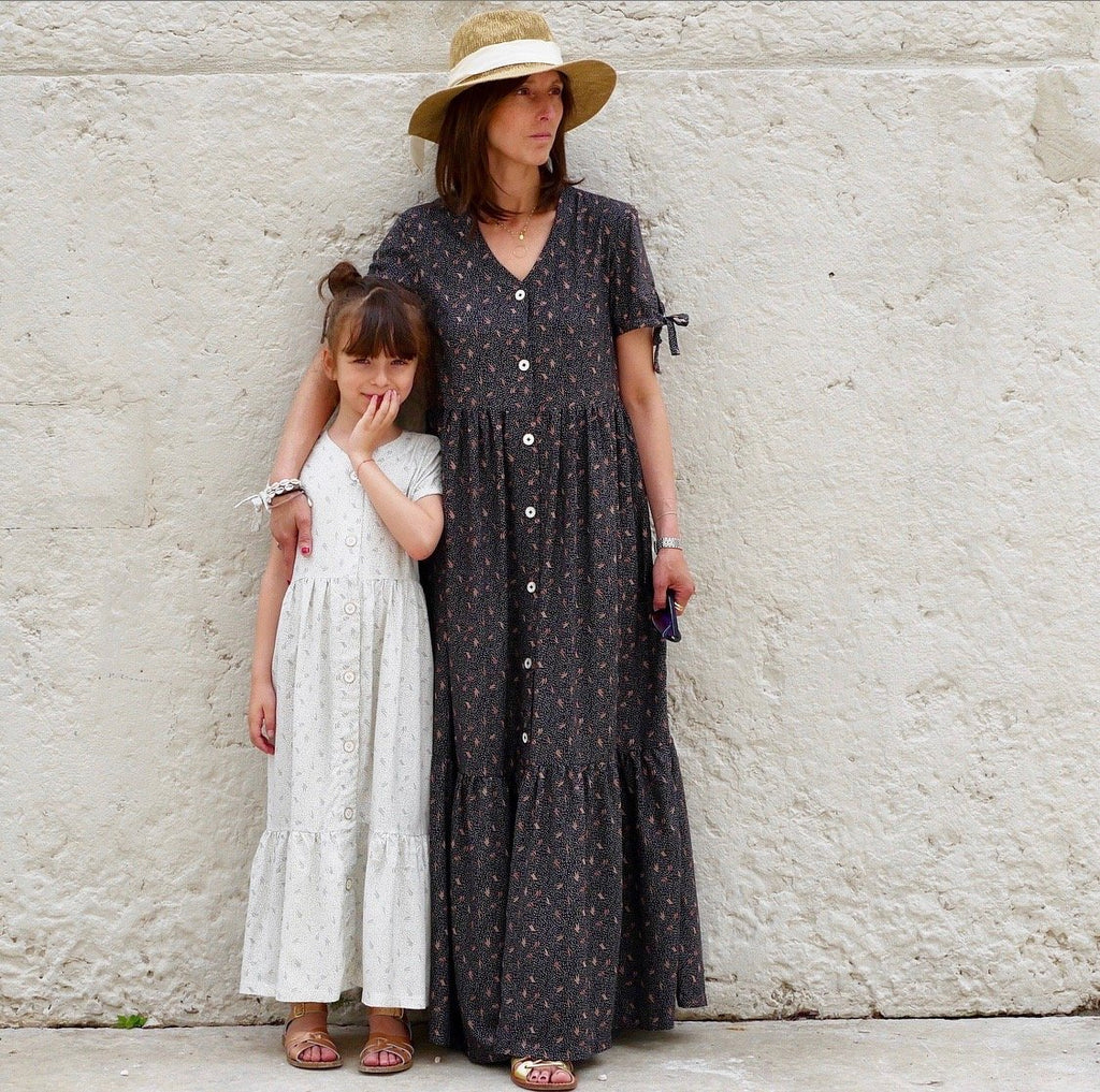 Ikatee (France), Anna Mum Dress Sewing Pattern - Women